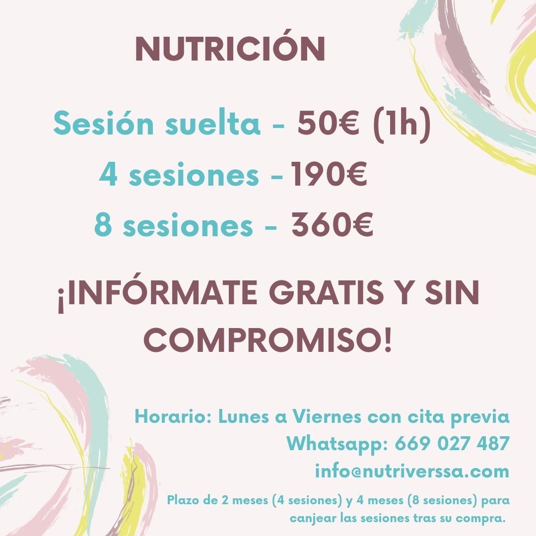 OFERTAS DE NUTRICIÓN